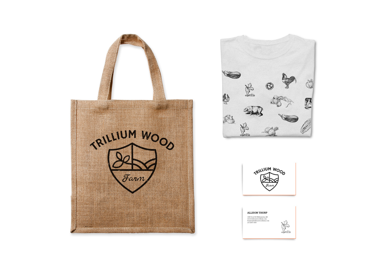 Trillium Wood farm mocks