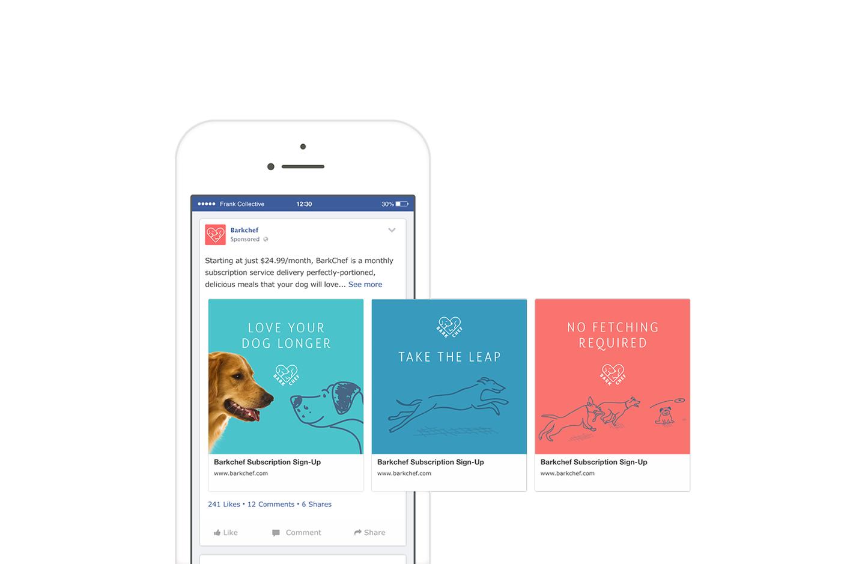 Barkchef facebook ads
