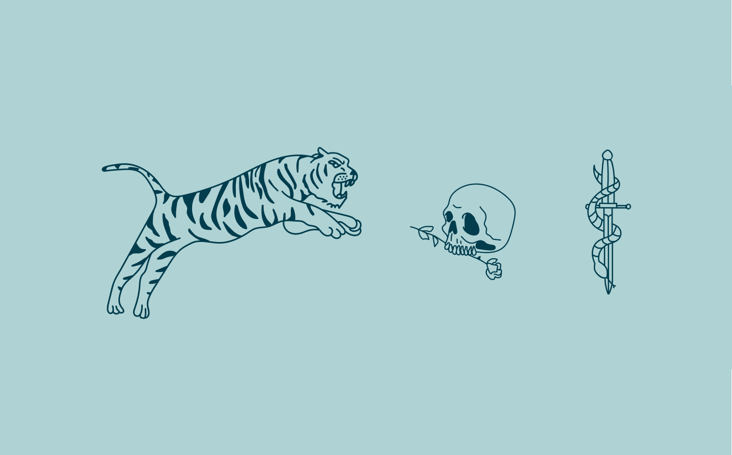 Cats-catering-illustrations