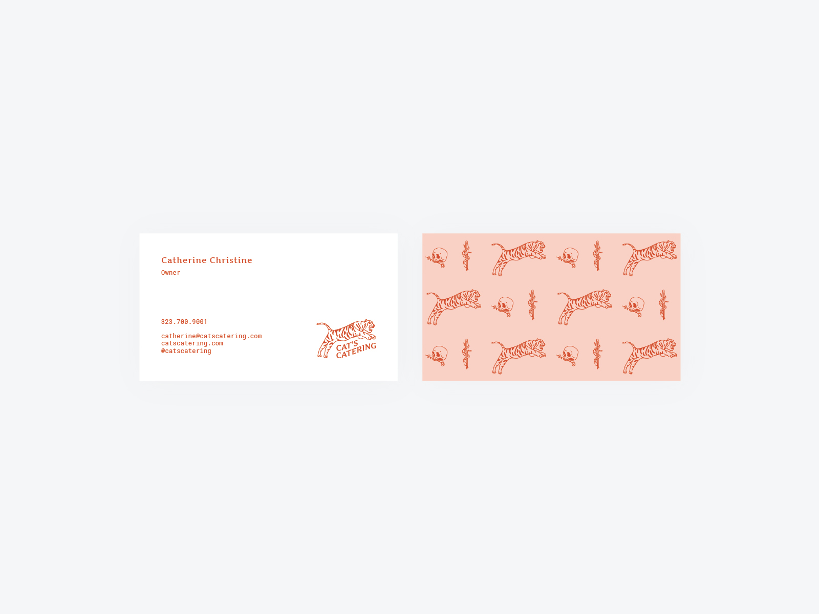 cats-catering-business-card