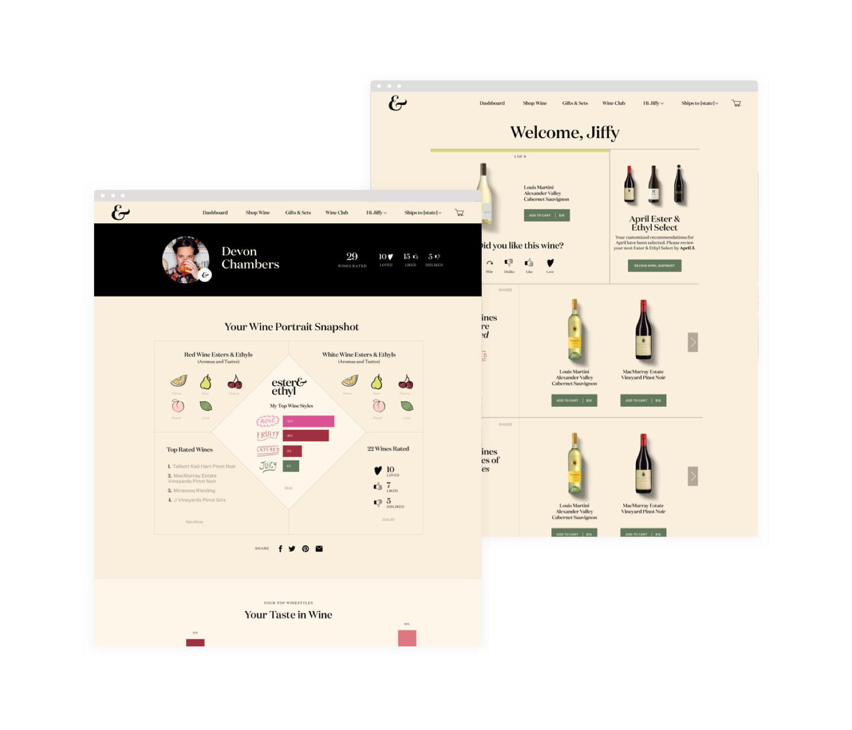 E&E web design